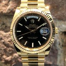 Rolex Day-Date 40 Gelbgold 40mm Schwarz Deutschland, Köln