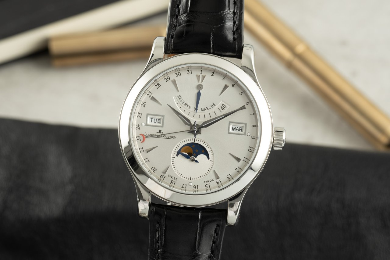 Jaeger-LeCoultre Master Control 147.8.41.S 2006 pre-owned