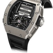 Richard Mille RM 69 Titanium 50mm Black No numerals