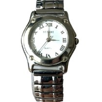 Decade pre-owned Quartz 20mm White Sapphire crystal Not water resistant
