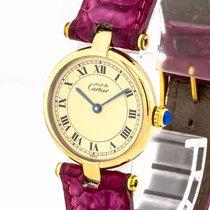 Cartier Quarz Champagnerfarben gebraucht