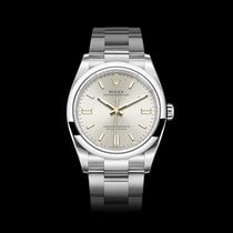Rolex Oyster Perpetual Steel 36mm Silver