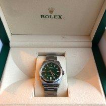 Rolex Oyster Perpetual 36 36mm Green No numerals UAE, Dubai