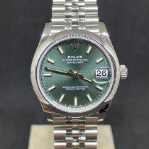 Rolex Lady-Datejust Stahl 31mm Grün Keine Ziffern Deutschland, münchen