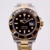 Rolex Submariner Date Gold/Steel 41mm Black No numerals United Kingdom, London