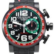Graham Silverstone Ceramic 48mm Black Arabic numerals