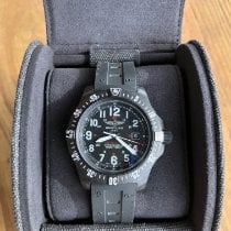 Breitling Carbon Quartz Black Arabic numerals 45mm pre-owned Colt Skyracer