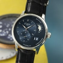 Glashütte Original 1-90-02-46-32-35 Steel 2019 PanoMaticLunar 40mm pre-owned