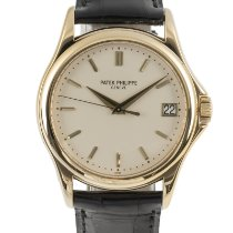 Patek Philippe pre-owned Automatic 34mm Sapphire crystal