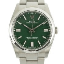 Rolex Oyster Perpetual 36 Steel 36mm Green