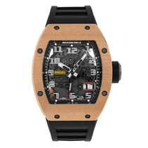 Richard Mille RM 029 Rose gold 39mm Transparent Arabic numerals