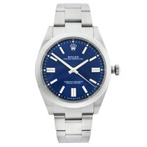 Rolex Oyster Perpetual Steel 41mm Blue United States of America, New York, NYC