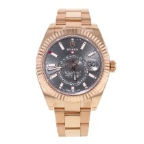 Rolex Sky-Dweller Rose gold 42mm Arabic numerals United States of America, New York, NYC