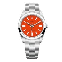 Rolex Oyster Perpetual Steel 41mm Red United States of America, New York, NYC