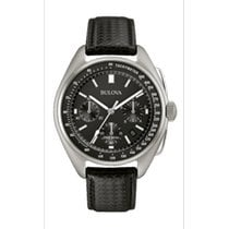 Bulova Lunar Pilot Steel 45mm Black No numerals United States of America, Ohio, USA