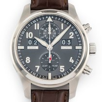 IWC Pilot Spitfire Perpetual Calendar Digital Date-Month Steel 46mm Grey Arabic numerals United States of America, Florida, Hollywood