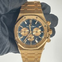 Audemars Piguet Royal Oak Chronograph Pозовое золото 41mm Синий