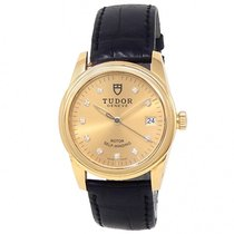 Tudor Glamour Date Yellow gold 36mm Champagne United States of America, New York, New York