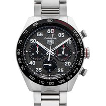 TAG Heuer Carrera Porsche Chronograph Special Edition Acero 44mm Gris