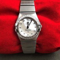 Omega Constellation Quartz Steel 24mm Mother of pearl United States of America, Texas, Houston