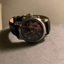 Montblanc pre-owned Automatic 38mm Black Sapphire crystal 3 ATM