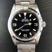 Rolex Explorer Steel 36mm Black Arabic numerals Singapore, Singapore