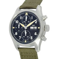 IWC Pilot Spitfire Chronograph новые Автоподзавод Хронограф Часы с оригинальными документами и коробкой IW387901