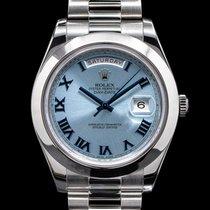 Rolex Day-Date II Platinum 41mm Roman numerals United States of America, Massachusetts, Boston
