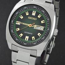 Seiko 5 neu 2021 Automatik Uhr mit Original-Box SNKM97