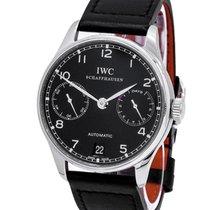 IWC Portuguese Automatic Сталь 42.3mm Черный Aрабские