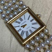 Chanel Желтое золото Кварцевые Chanel Pearls and 18kt Yellow gold подержанные