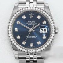 Rolex Datejust Очень хорошее Золото/Cталь 36mm Автоподзавод