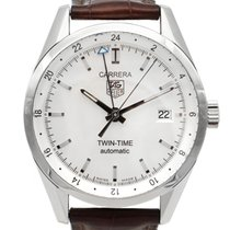 TAG Heuer Carrera Calibre 7 Steel 39mm White