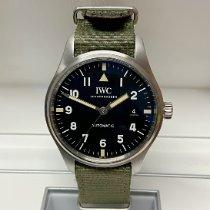 IWC Pilot Mark Steel 40mm Black Arabic numerals United Kingdom, Wilmslow