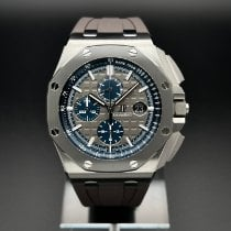 Audemars Piguet Royal Oak Offshore Chronograph Titânio 44mm Cinzento Sem números
