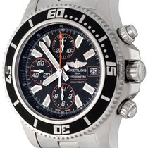 Breitling Superocean Chronograph II Steel 44mm Black No numerals United States of America, Texas, Dallas