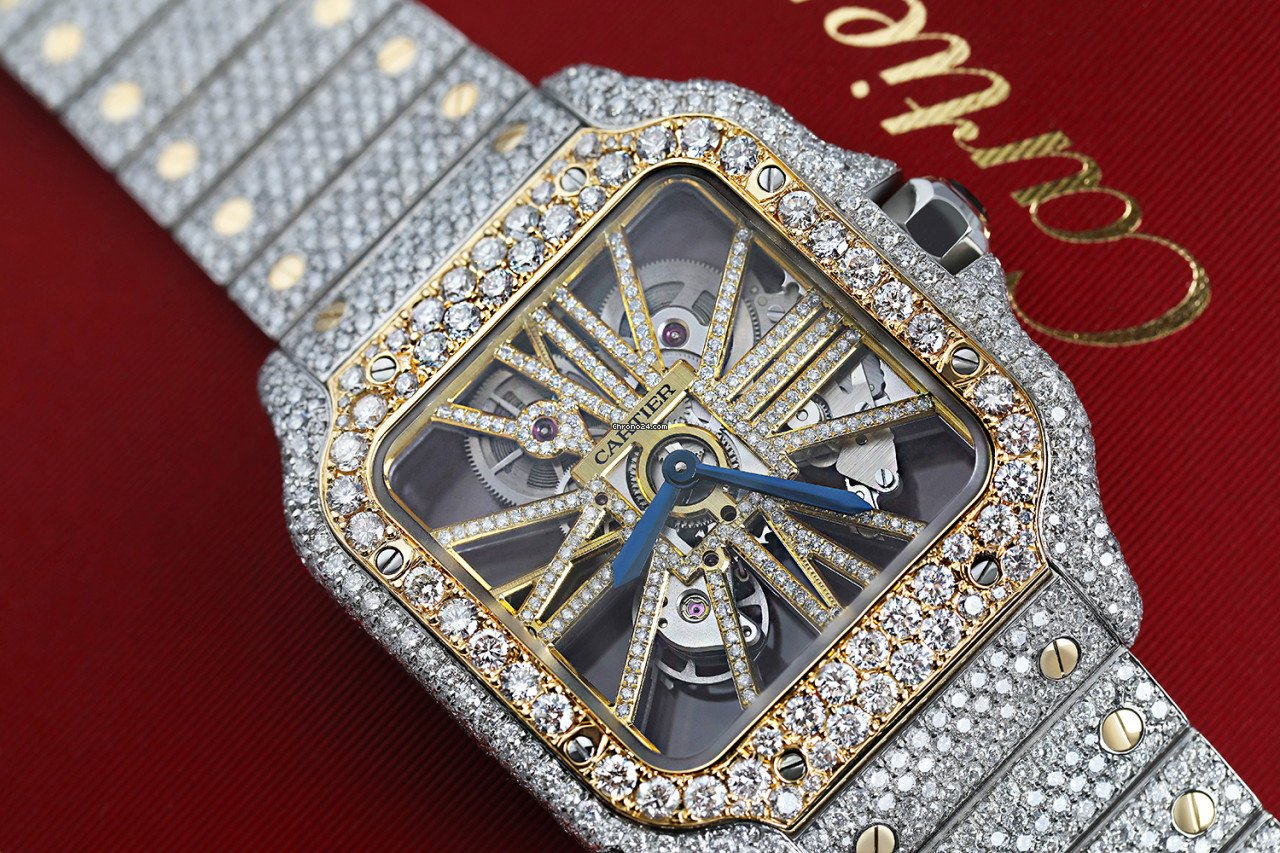Cartier Santos (submodel) WHSA0019 new