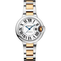 Cartier Ballon Bleu 33mm new Automatic Watch with original box and original papers W2BB0002
