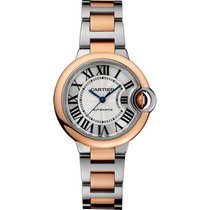 Cartier Ballon Bleu 33mm new Automatic Watch with original box and original papers W2BB0023