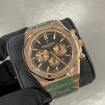 Audemars Piguet Royal Oak Chronograph Rose gold 41mm Brown No numerals United Kingdom, Gateshead