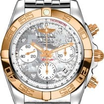Breitling Chronomat 41 Steel 41mm Mother of pearl No numerals United States of America, New Jersey, Princeton
