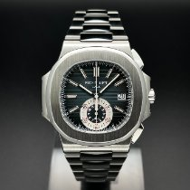 Patek Philippe Nautilus Steel 40.5mm Blue No numerals