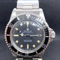 Rolex Submariner (No Date) Silver 40mm Black No numerals