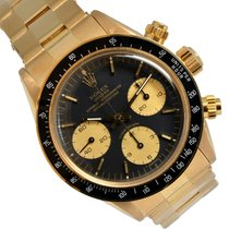 Rolex 6263 Yellow gold 1979 Daytona 37mm pre-owned