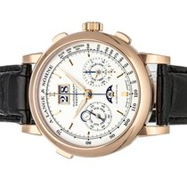 A. Lange & Söhne Datograph Rose gold 41mm Silver Arabic numerals United States of America, Florida, Aventura