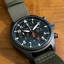 IWC Pilot Chronograph Top Gun Ceramic 44.5mm Black Arabic numerals United States of America, New York, New York, NY