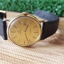 Enicar Gold/Steel 30mm Manual winding 8000401 pre-owned Indonesia, Bandung