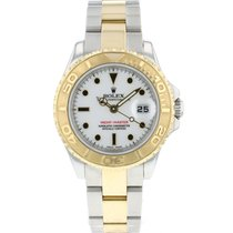 Rolex 169623 Gold/Steel 2004 Yacht-Master 29mm pre-owned