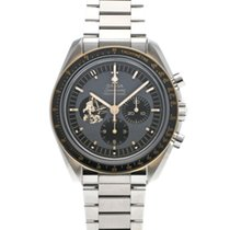 Omega Speedmaster Professional Moonwatch Stahl 42mm Grau