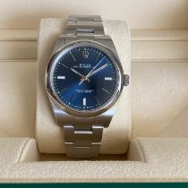 Rolex Oyster Perpetual 39 Steel 39mm Blue No numerals United States of America, Florida, hallandale